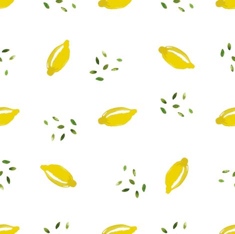 Limonana fabric by tasiania on Spoonflower - custom fabric