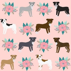pitbull floral collection fabric coordinating prints in the collection