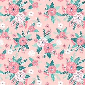 floral coordinate for dog florals - see collection for coordinating prints