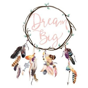 "8"" Wild & Free / Dream Big Dream Catcher"
