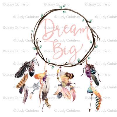 """7"""" Wild & Free / Dream Big Dreamcatcher"""