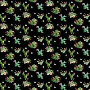 """1.5"""" Western Flowers / Black"""