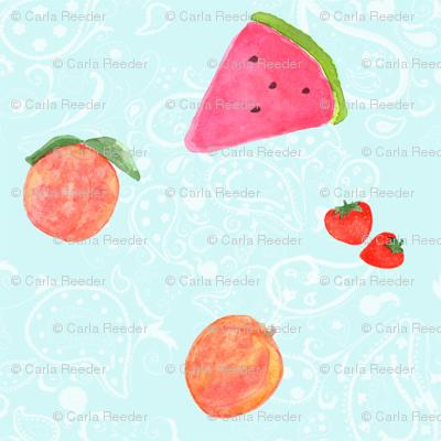 Summer Fruit Whimsey