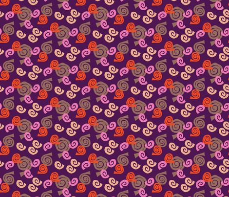 S_SnailsM fabric by choffman on Spoonflower - custom fabric