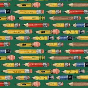 little pencils green