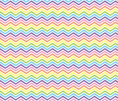 PastelFruitStripesZigzag fabric by et_al on Spoonflower - custom fabric