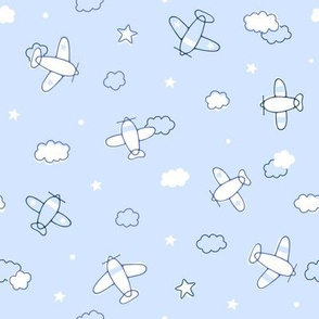 Clouds, Stars and Planes