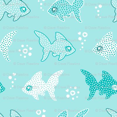 Fish love bubbles