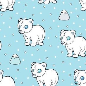 Cuddly Baby Polar Bear