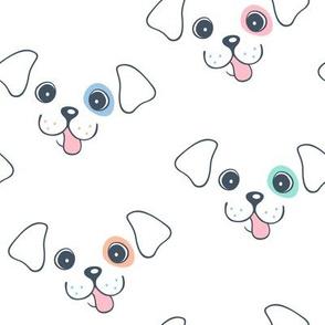 Cute Puppy Dog Face