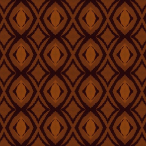 Leather impressions - brown