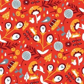 Spring awakening (red)