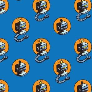 retro roboworld (blue)