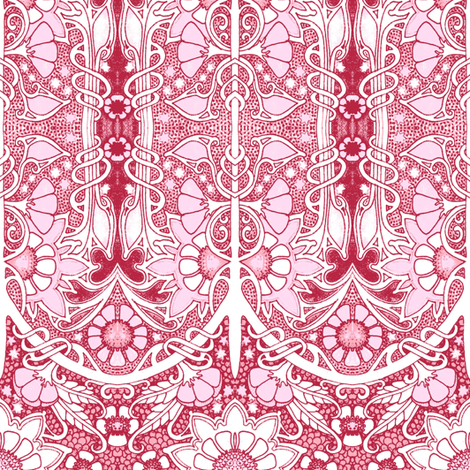 Victorian Dreams fabric by edsel2084 on Spoonflower - custom fabric