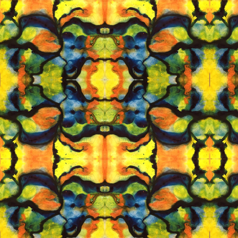 Bright  fabric by kimcollings on Spoonflower - custom fabric