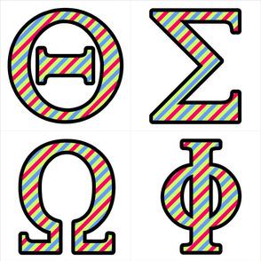 Custom Greek Letters 4