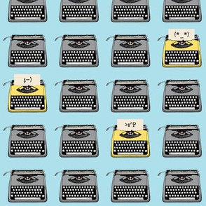 Emoji Typewriters (Custom for Katy)