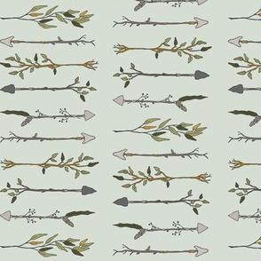 Twiggy Arrows - Pale Seaspray