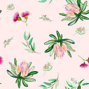 """12"""" Island Flower / PINK"""