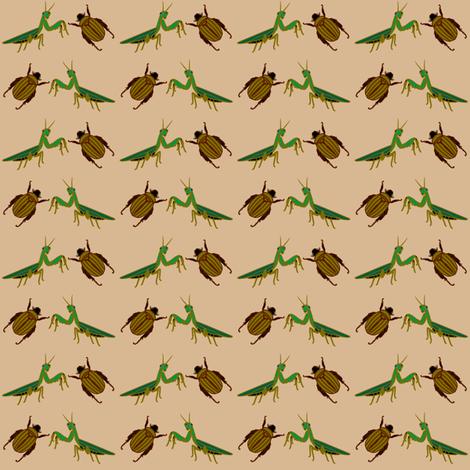 AwingAnPrayerInsects fabric by grannynan on Spoonflower - custom fabric