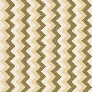 Collared portrait vertical chevron coordinate - tan