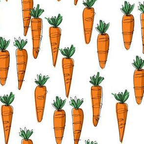 Bunch of carrots - small