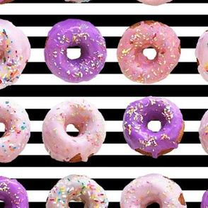 sprinkle donuts pink and purple