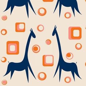 Mod Giraffes sewindigo