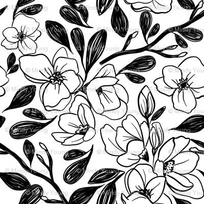 Indy Bloom Magnolias C