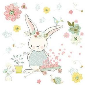 """7"""" Garden Bunny"""