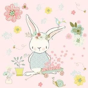 """7"""" Garden Bunny / Pink"""