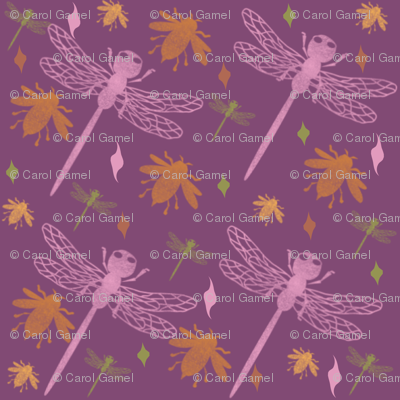 Bees and Dragonflies +