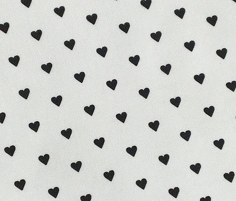 Fer Shurr* (Black on White) || heart love valentine valentines day 80s retro pastel