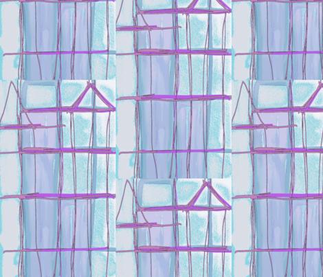 Geometric Metro fabric by menny on Spoonflower - custom fabric