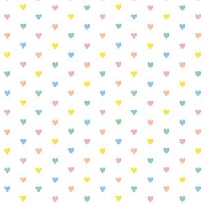 Fer Shurr* (Rainbow Pastel) || heart love valentine valentines day 80s retro preppy