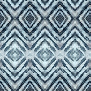Shibori Diamonds Payne's Gray