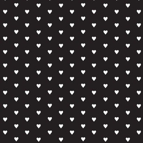 Fer Shurr* (White on Black) || heart love valentine valentines day 80s retro preppy punk