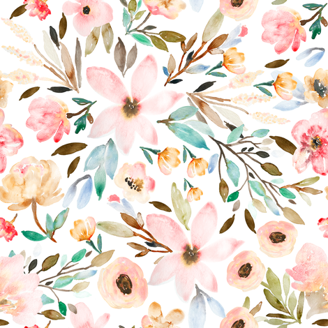 Indy Bloom Design MAE C fabric by indybloomdesign on Spoonflower - custom fabric