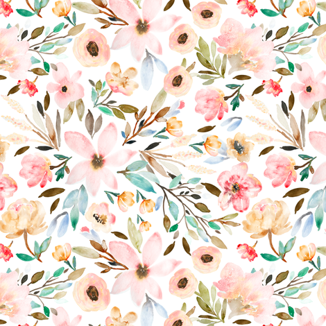 Indy Bloom Design MAE B fabric by indybloomdesign on Spoonflower - custom fabric
