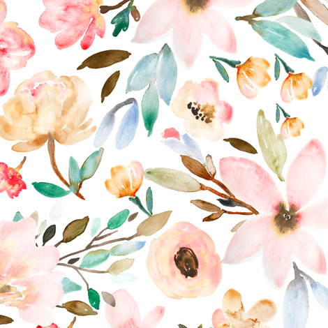 Indy Bloom Design MAE D fabric by indybloomdesign on Spoonflower - custom fabric