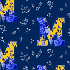 M is for Michigan / School Spirit