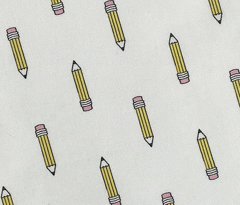 Dweeb* || pencil nerd geek chic geeky math science art eraser school supplies teacher student