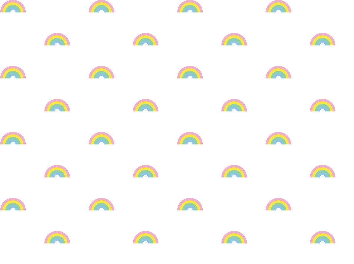 893f1ed1 Tiny Pastel Rainbows* || rainbow 80s retro gay pride wallpaper - pennycandy  - Spoonflower