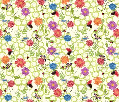 flit and fly fabric by sarah_joseph on Spoonflower - custom fabric