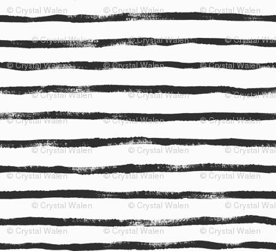 Thin Stripe soft black
