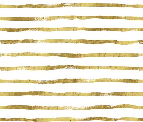 Thin Stripe gold fabric by crystal_walen on Spoonflower - custom fabric
