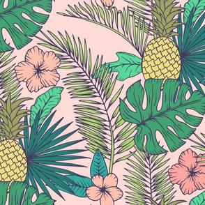 Tropical Garden Pink