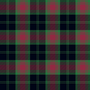 Carlow county Irish tartan