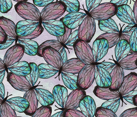 THE BUTTERFLY fabric by janemonteith on Spoonflower - custom fabric