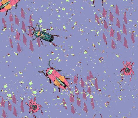 GallaticBugs fabric by brudandrade on Spoonflower - custom fabric